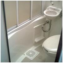 【相談】風呂とトイレが一緒のユニットバスを「自力で仕切る」にはどうやればいい?(※画像あり)